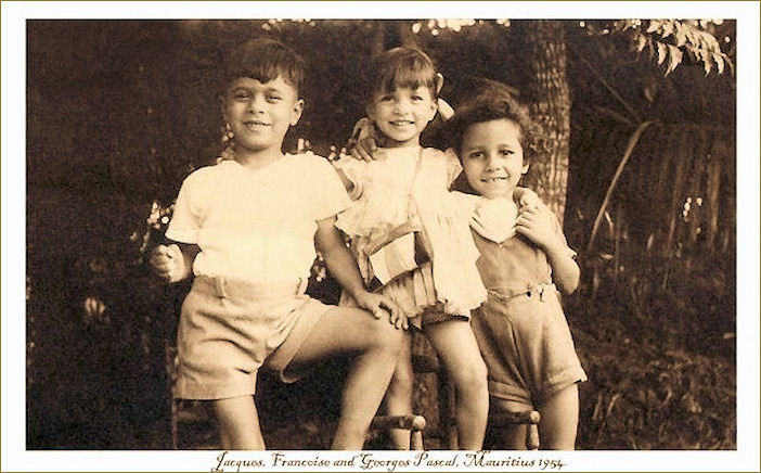Georges, Francoise and Jaques