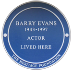 Barry Evans Plaque